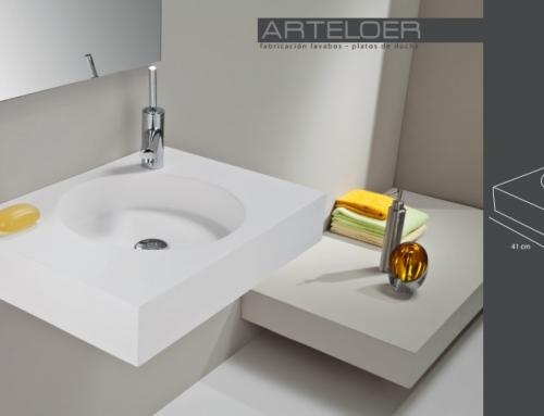 Medidas lavabo modelo Thor seno Huracan