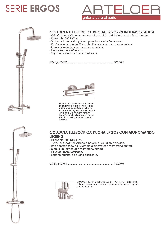 Grifería de baño - Serie Ergos -1