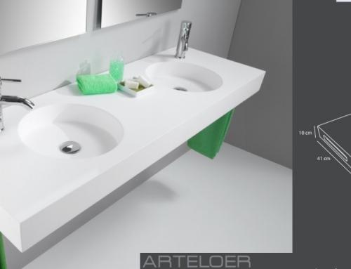 Arteloer fabrica de lavabos a medida valencia for Medidas lavabo