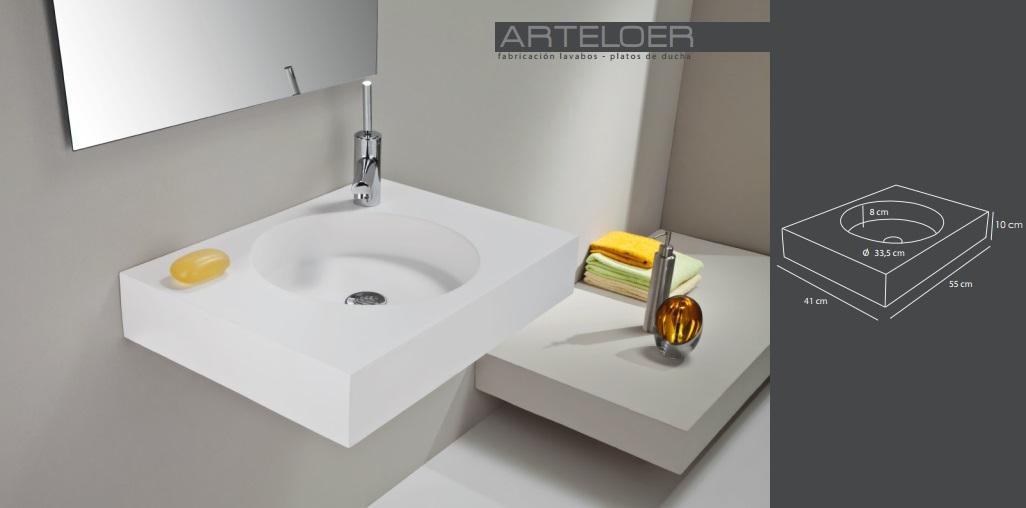 Arteloer fabrica de lavabos a medida valencia dibujos t cnicos - Lavabos a medida ...